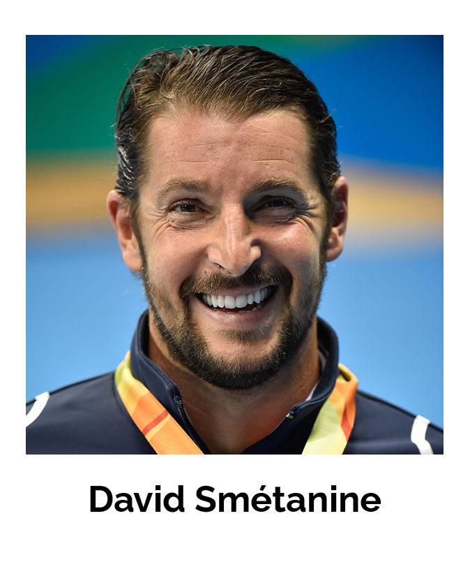 Portrait de David Smétanine, champion paralympique de natation