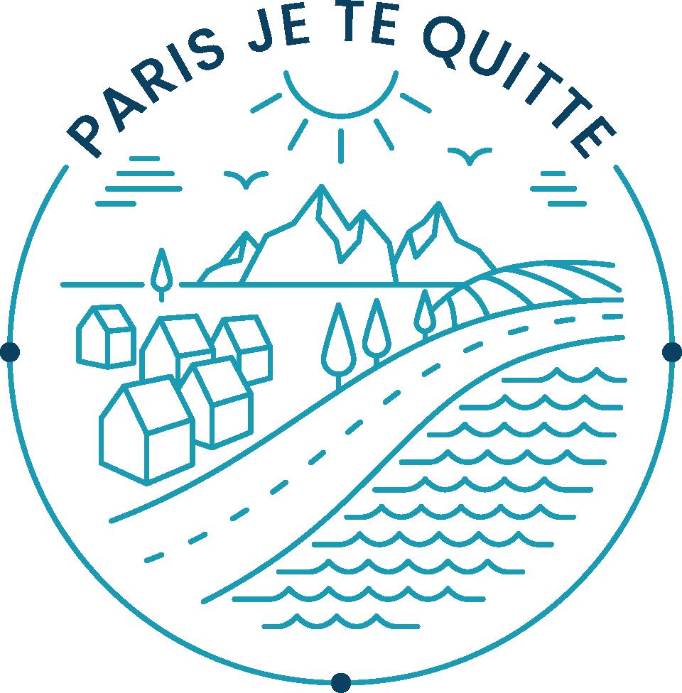 Logo Paris je te quitte