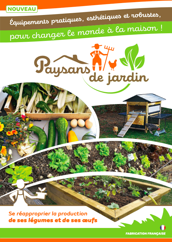 Couverture de la brochure paysans de jardin