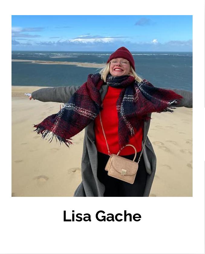 Portrait de Lisa Gache, bénévole Coupe de france du potager