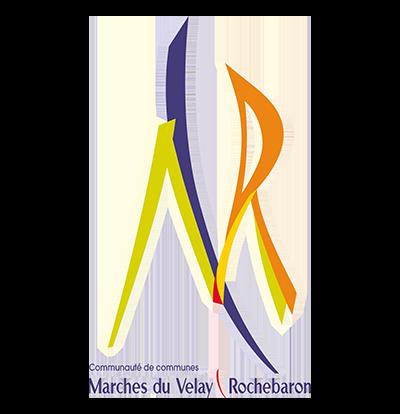 Logo des marches du Velay Rochebaron
